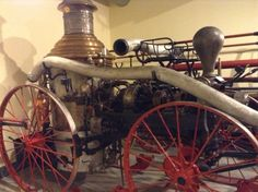 Old fire truck at Goderich museum