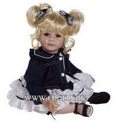 Кукла Адора Джинсовая и белая - Интернет магазин Коллекционные куклы СиДоллс / CDolls.ru