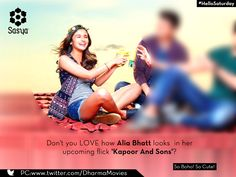 Pre-release of Kapoor and Sons! We LOVED Alia Bhatt's look.  #Facebook #AliaBhatt #Bollywood