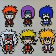 Naruto perler beads by imbpixel