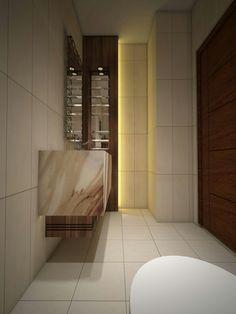 Guest Bathroom Eve Interior Design Amman, Jordan