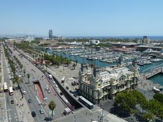 #barcelona Paris Skyline, Barcelona, Travel, Trips, Traveling, Tourism, Outdoor Travel, Vacations
