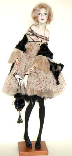 Ana Gucschina art doll