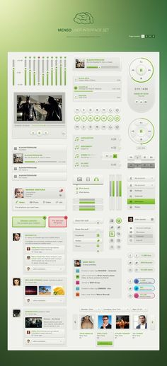 (01) Menson UI full Set for $19 http://vandelaypremier.com/psd-files/menso-ui-set-light/