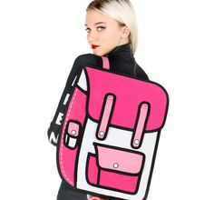 2d backpack pink! https://2dbags.co