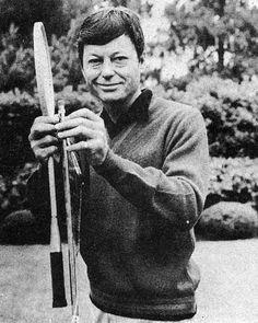 DeForest Kelley being too adorable for words.