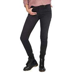 Pantaloncini Skinny in Jeans Elasticizzato AnyuA Salopette Corta da Uomo