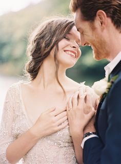 Organic Outdoor Fall Wedding in the Mountains - Once Wed Wedding Looks, Wedding Bride, Perfect Wedding, Fall Wedding, Wedding Dresses, Film Photography, Couple Photography, Wedding Photography, Monique Lhuillier