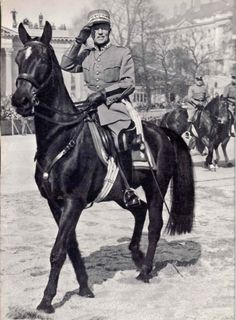 General Henri Guisan - Commander in Chief Swiss Army during WW 2