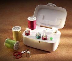Wrights 88175 SideWinder, Free Standing Electric AA Battery Operated, Sewing Machine Bobbin Winder, StartStop, Adjust Fill Limit Switch, Auto Shut Off