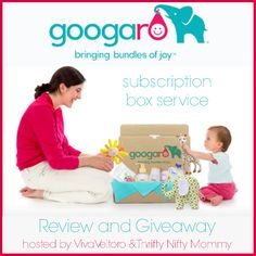 Googaro Subscription Box for babies and toddlers!  #WIN a month's box!