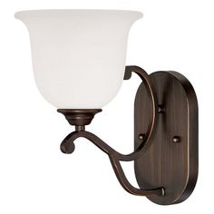 Millennium Lighting 1551 Courtney Lakes 1 Light Wall Sconce Rubbed Bronze Indoor Lighting Wall Sconces