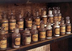 18th-century pharmacy in Carpentras, housed in the town's old hospital.  From: The World of Interiors, Oct. 2009.