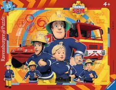 Sam, der Feuerwehrmann Puzzles;Kinderpuzzle Ravensburger