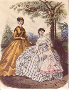 fashion plates :: 1860s2.jpg picture by Heileenh - Photobucket