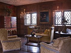 Elizabethan Room in the Manor House at Ladew Gardens