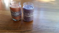6oz Baby Food Jar Soy Wax Scented Candles by CandlesByAmanda228