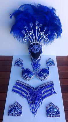 Carnival costumes comparsa