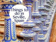 Top 5 Things to do in Seville. Includes photos, video, and 5 recommendations with the best things to do in Seville in one day, plus suggested tour options.