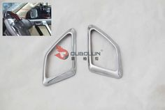 Find More Stickers Information about 2PC  ABS  a treble  Interior  Horn frame…