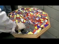 How To- Mosaics Grouting  polishing