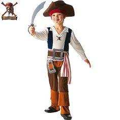 Disfraz de Jack Sparrow #disfraces #infantil #carnaval