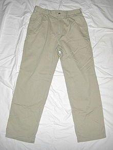 Chino (vêtement) — Wikipédia