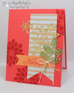Stampin' Up! Flourishing Phrases - Stamp With Amy K.  (Pin#1: Flourishes...).