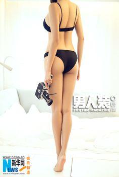 sexy actress Wang Zhi covers FHM