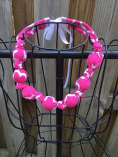 Fabric Necklace Breastfeeding Necklace by BuccioBabyShop on Etsy