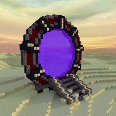 I built a stargate themed nether portal By u/trydar