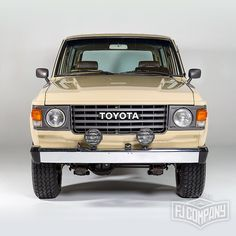 Meet our latest finished project: 1981 Toyota Land Cruiser FJ60 Beige See…