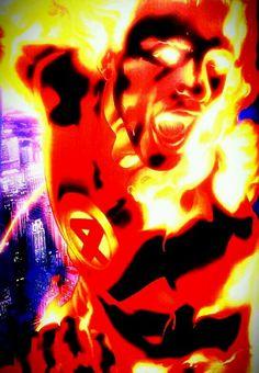 Johnny Storm Fantastic 4