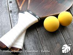 Frescoball Paddle / フレスコボール / ラケット+ ボール ペアセット - demaekobo