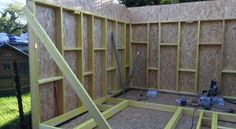 Now You Can Build ANY Shed In A Weekend Even If You've Zero Woodworking Experience! Start building amazing sheds the easier way with a collection of shed plans! Woodworking Projects Diy, Woodworking Plans, Shed Construction, Construction Business, Construction Birthday, Shed Kits, Diy Shed Plans, Shed Homes, Shed Design