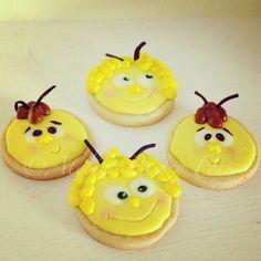 "Galletas decoradas ""Abeja Maya"", cookies maya the bee, Biene Maja Kekse, Mallorca"