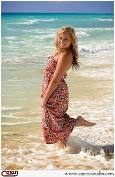 Senior beach sessions in #Cancun #cancunphotographer www.cancunstudios.com Cancun Studios Photography - Google+