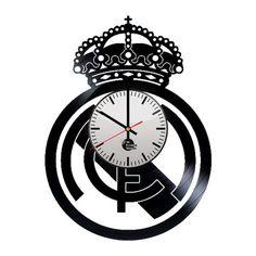 Real Madrid Handmade Vinyl Record Wall Clock Fan Gift - VINYL CLOCKS
