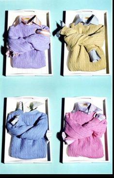 Bring garments to life through creative folding.