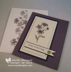 Simply Soft Mother's Day Card by NWstamper - Cards and Paper Crafts at Splitcoaststampers