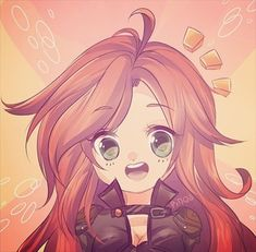 """""""just an old artwork from may!!~ wanted to share how far i've come// or at least how much my style has changed > w <;;"""" pinqo.paigeeworld.com #leagueoflegends #lol #lolfanart #league #katarina #chibi #cute #fanart"""