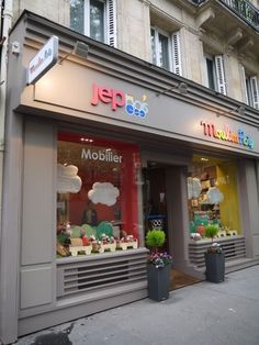울산•부산인테리어 티디컴퍼니/ 건물 파사드 (exterior) 지나가는 발길을 잡자❗️ : 네이버 블로그 Baby Store Display, Toy Display, Kids Salon, Store Plan, Clothing Store Design, Kids Boutique, Kids Store, Le Moulin, Store Fronts