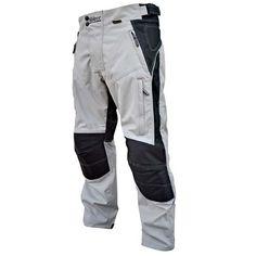 Sliders Adventure Motorcycle Pants - Silver