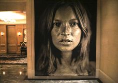Kate Moss by Chuck Close - The Surrey Hotel - NYC - #poppingupdoc  #popsurrealism  #pop  #popart #streetart #Graffiti #artederua #graffiti #art #artwork #contemporaryart #modernart #realcreativeart #watercolor #urbanart #cores #colores #colors #sprayart #intervention #urbanintervention #graffitiwall #kunst #photooftheday #street #graffitiart #thesurrey #surrey #nyc #newyorkhotel Nyc Hotels, New York Hotels, Modern Art, Contemporary Art, Chuck Close, Urban Intervention, Graffiti Wall, Arte Pop, Pop Surrealism