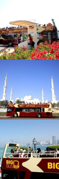 Don't miss a thing in the capital of the #UAE on the #AbuDhabi open-top hop-on hop-off bus tour. The city's best #Sightseeing provider offers tickets that are valid for 24 hours- ample time for a quick exploration or comprehensive short break travel. The tour had two routes: the 'City Tour' and the 'Yas Island' tour. Discover highlights such as Sheikh Zayed Mosque and visit Abu Dhabi's most exciting attractions on the Yas Island Tour…