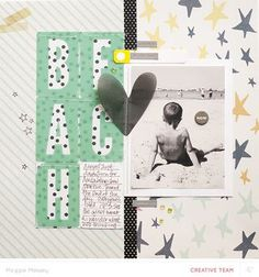 Video | Mixing Patterned Paper to Anchor a Layout with Maggie Massey