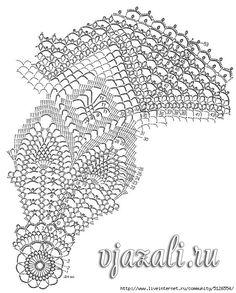 Crochet umbrella -  schema maomao -