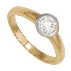 Damen Ring 585 Gold Gelbgold Weißgold Diamant Brillant 0,15ct Goldring http://cgi.ebay.de/ws/eBayISAPI.dll?ViewItem&item=151832395995&ssPageName=STRK:MESE:IT
