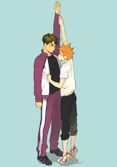 Find images and videos about haikyuu, hinata shouyou and shiratorizawa on We Heart It - the app to get lost in what you love. Haikyuu Manga, Haikyuu Funny, Haikyuu Fanart, Haikyuu Ships, Manga Anime, Anime Cat, Otaku Anime, Anime Guys, Haikyuu Volleyball
