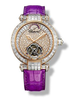 Chopard IMPERIALE rose gold and amethyst #watch